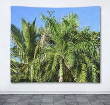 Wall Tapestry Wall Hanging Printed in USA Photo 43 Palm Tree Tropical Gr... - $49.99+