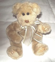 "1993 Ty Teddy Bear With Tush Tag 12"" Long Movable Jointed Legs Arms and ... - $7.92"