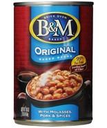 ORIGINALB&M BAKED BEANS, (12 SIXTEEN OUNCE CANS)  - $49.50