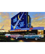 Blue Sky Drive in Classics Sign by Stan Stokes - $29.95