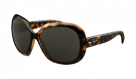Ray Ban RB4098 Jackie Ohh Ii Sunglasses Light Havana Frame Grey - $48.61