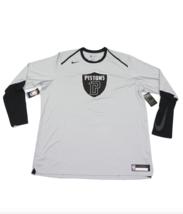 Nuovo Nike Uomo 4XLT Alto Squadra Emesso Detroit Pistoni Motor Città lun... - $29.40