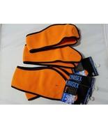 B.U.M. Equipment Unisex Headband NWT Winter Orange Hunting Fleece Lot of 5 - $14.83
