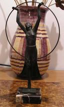 MAX LE VERRIER 1930s Art Deco BAYADERE de CHARLES Temple Dancer SCULPTURE - $1,081.55