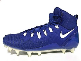 Nike Force Savage Pro Mens Football Cleats Old Royal/White Support (9183... - $49.95