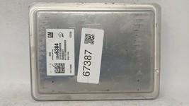 2017-2018 Gmc Acadia Engine Computer Ecu Pcm Ecm Pcu Oem 67387 - $78.16