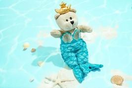 STARBUCKS Anniversary Teal Mermaid Siren Bearista Bear Plush NWT - $32.99