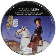 Casa de Alba Assorted Spanish Cookies Gift Tin - 19.4 oz tin - $30.43