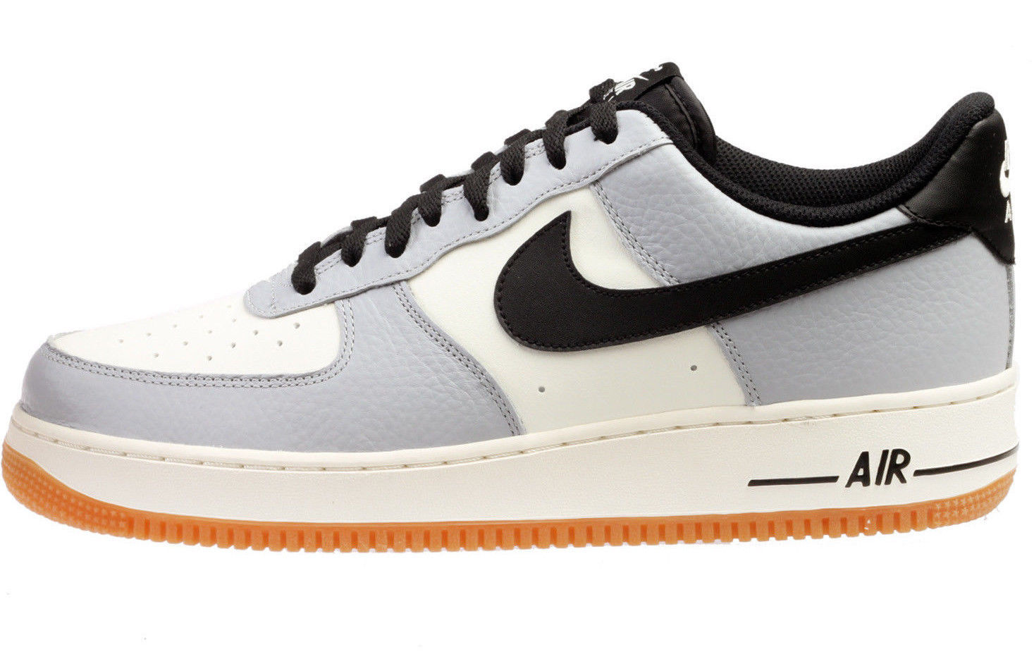 online retailer 4f3b1 87b03 NIKE AIR FORCE 1 GREY BLACK GUM SIZE 9 BRAND NEW FAST SHIPPING (865031-601)