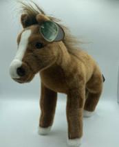 "Blaze Plush Horse Stuffed Animal Brown Equin 13.5"" The Bearington Collec... - $31.78"