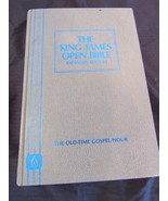 The King James Open Bible Expanded Edition Old Time Gospel Hour Red Letter  - $29.81