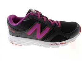 New Balance Women's BLACK/PINK Speedride Running Shoes Sz 5(D) Wide, #W490LB3 - $49.99