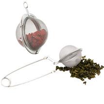 ERMAKOVA 2 Styles Stainless Steel Tea Infuser Loose Leaf Tea Tong Maker Perfect  - $3.31+