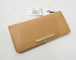 NWT! Brahmin Ady Bi-Fold Leather Wallet in Creme Talitha - $109.00