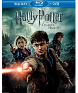 Harry Potter & the Deathly Hallows Part 2 (Blu-ray/DVD)  - $2.95