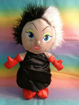 Disney Park Babies Villain Cruella DeVil Plush Doll 101 Dalmatians - as is - $5.89