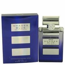 Armaf Shades Blue by Armaf Eau De Toilette Spray 3.4 oz for Women - $30.52
