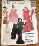 Costumes 5 6 Glamour Girls Bride Princess Diva Singer Gown McCall's Patt... - $7.00