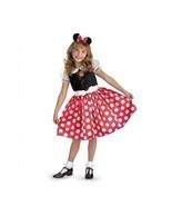 Disguise Mickey Minnie Mouse Cartoon Classico Bambino Costume Halloween ... - $20.85