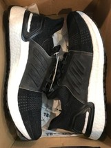 Adidas Ultra Boost 19 Womens SIZE 10 Running Shoes Black/Cloud White #G5... - £112.10 GBP