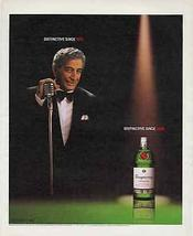 Tony Bennett Ad  Photo 2002 Tanqueray Distillery Ad Distinctive - $10.99