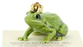 Birthstone Frog Prince November Simulated Citrine Miniatures by Hagen-Renaker image 7