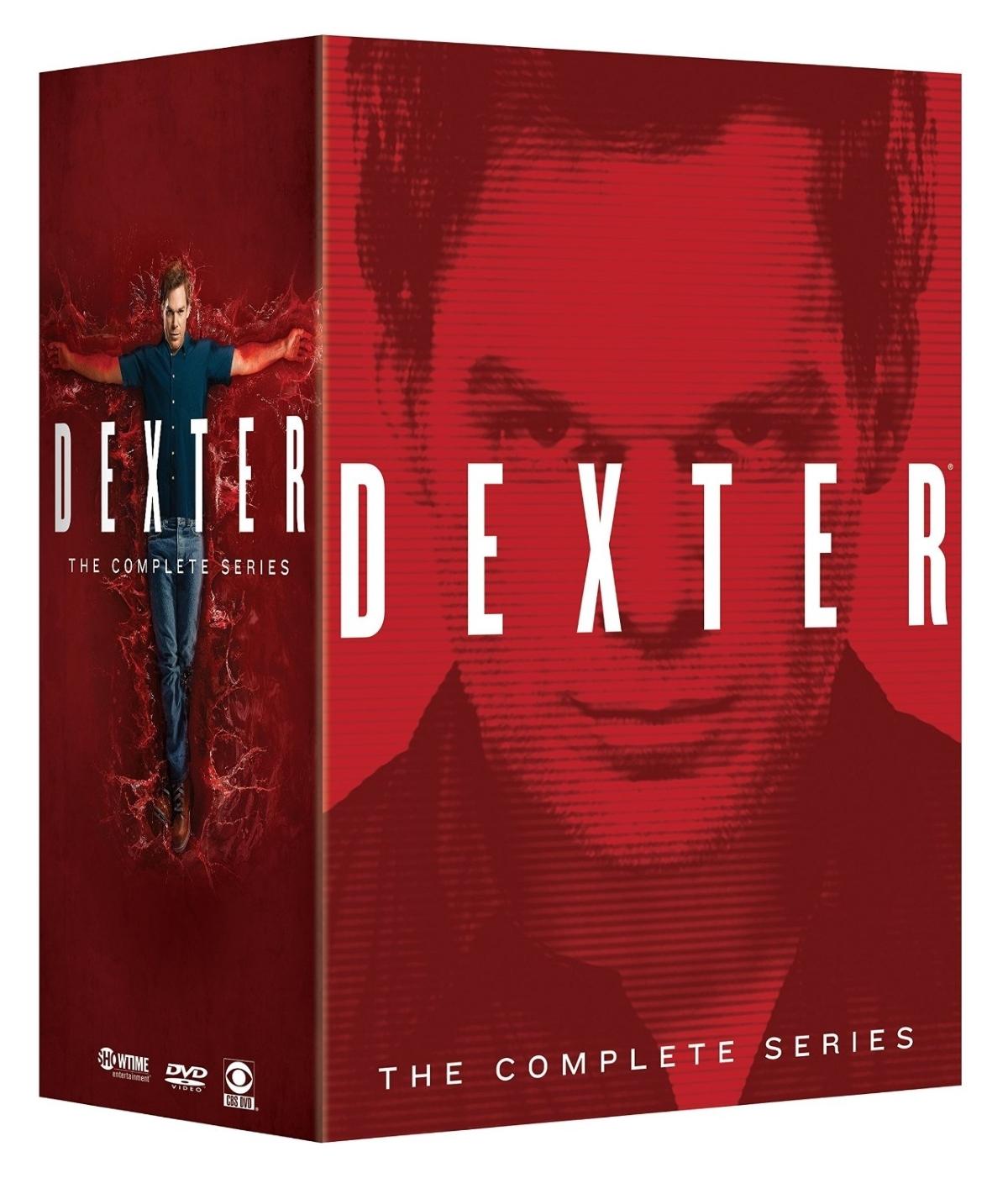 Dexter the complete series season 1 7  dvd 2015 32 disc  1 2 3 4 5 6 7 m.c.hall