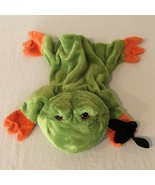 Gund Plush Hand Puppet Frog With Bat 319551 Fly On The Wall Playful Puppets - $19.99