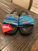 PUMA PUMA x COOGI UniSex Leadcat Sandals MultiColor Slides Men 9.5 Women... - $54.45