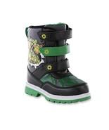NEW NWT Boys TMNT Teenage Mutant Ninja Turtles Snow Boots Size 7 Toddler - $19.99