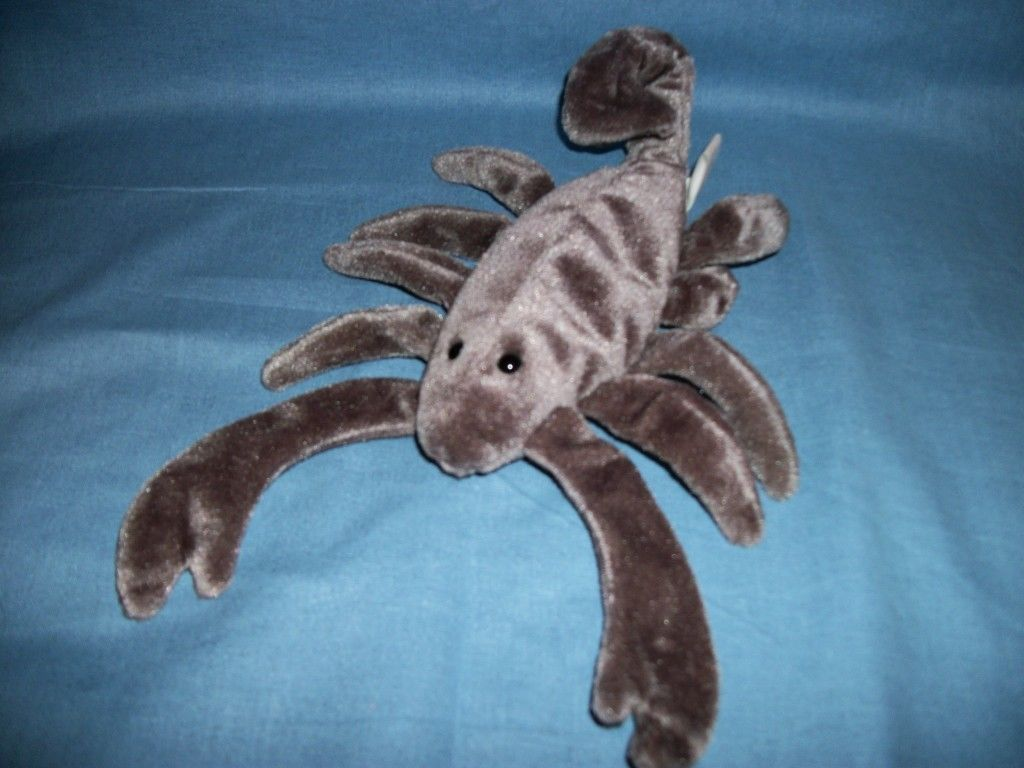 TY Beanie Babies Stinger The Scorpion With Tush Tag only 1998