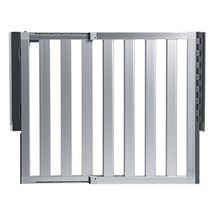 Munchkin Loft Aluminum Hardware Mount Baby Gate for Stairs, Hallways and... - $130.42