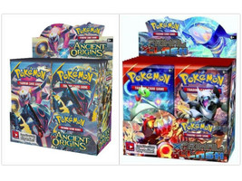 Pokemon TCG Ancient Origins + XY Primal Clash Booster Boxes Sealed - $209.99