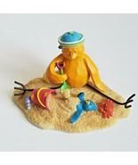 "Russ Berrie Bird Figurine TWEET ALONG WITH ME ""Sand Trap"" No13066 - $13.50"