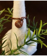 Copper Wired Ring - $10.00