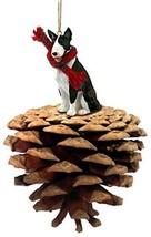 Conversation Concepts Bull Terrier Brindle Ponderosa Pet Ornament - $16.99