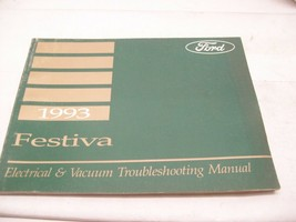 1993 FORD FESTIVA SERVICE MANUALS with Electrical & Vacuum Troubleshooting  - $12.86