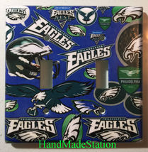 Philadelphia Eagles Light Switch Power Outlet Duplex Wall Cover Plate Home Decor image 3