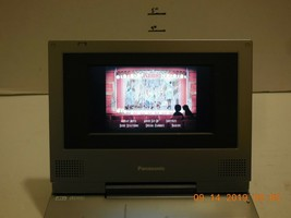 "Panasonic DVD-LV55 7"" Silver Portable DVD Player Car Widescreen Movies M... - $52.60"