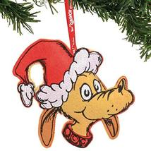 Department 56 Dr. Seuss The Grinch Max Felt Hanging Ornament, 6.5 Inch, Multicol - $10.50