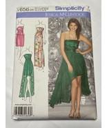Simplicity Pattern 1656 Jessica McClintock Womens Party Dress Sizes 4,6,... - $10.54