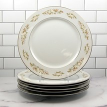 International Silver Co Springtime Japan Set of 6 Dinner Plates 10 3/8 in (26cm) - $33.37