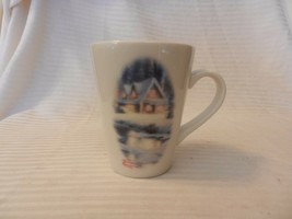 Thomas Kinkade Painter of Light Deer Creek Cottage Coffee Cup 1995 #9173 - $14.84