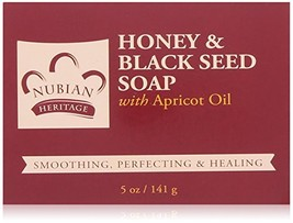 "(1) Original Formula-Nubian Heritage ""Honey and Black Seed"" Bar Soap """"... - $5.93"