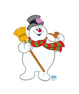 Frosty The Snowman Christmas Cardboard Cutout Standup Standee Holiday Di... - $42.56
