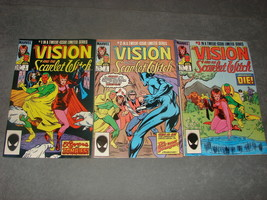 Marvel Comics: The Vision and the Scarlet Witch Vol. 1 No. 1 2 3 - $9.00