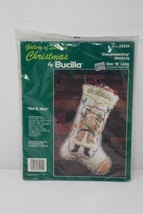 Bucilla Gallery of Stitches Christmas Candlewicking Stocking Kit Old St ... - $23.74