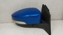 2012-2014 Ford Focus Passenger Right Side View Power Door Mirror Blue 114119 - $160.93