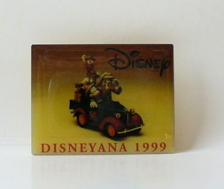 1999 Disneyana Convention Mickey Mouse Goofy Donald Duck Pin - $20.95