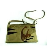 Jonathan Lee Signed Soft Leather Crossbody Purse Shoulder Handbag Giraffe - $22.72